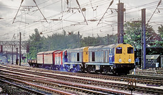 MOD Train At Preston. (Neil Harvey 156) Tags: railway 20040 20169 preston westcoastmainline wcml modtrain mixedfreight class20 brblue railblue chopper doubleheaded