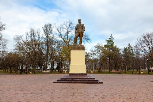 Monument To Grigory Kitovsky - Pobedi Park