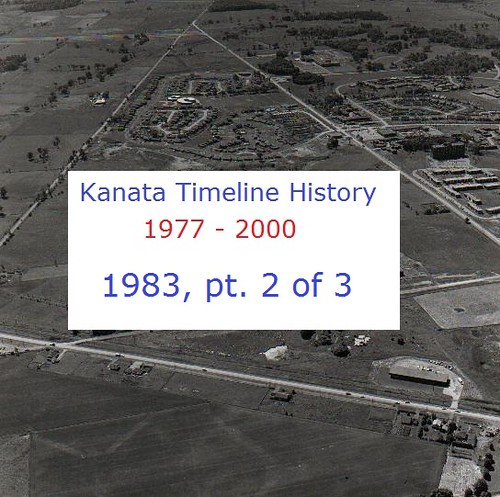 Kanata Timeline History 1983 (part 2 of 3)
