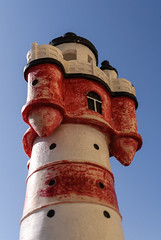 "Modell ""Roter Sand"" (G_Albrecht) Tags: architektur leuchtturm lighthouse profan nordrheinwestfalen deutschland"