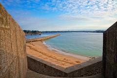 Saint-Malo Beach Walls