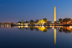 Washington Dawn Monument