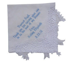 Elegant Lace Graceful Handkerchief