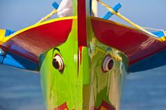 Bali Boat Eyes