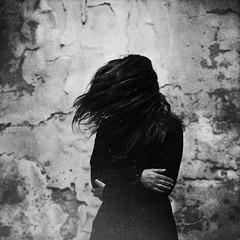 (Victoria Yarlikova) Tags: bw girl urbex abbandoned square moody decay monochrome depressed selfportrait absoluteblackandwhite