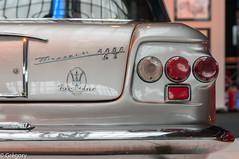 Maserati 5000 GT (Gregouill) Tags: 2014 201408 août arrière autoworld feu maserati musée voiture