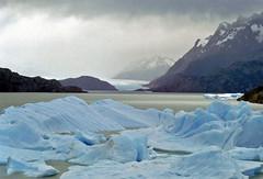 グレイ湖 Lake Grey  - Paine N.P. , Chile by Ik T