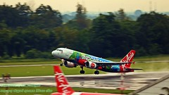 ..blasting off.. (Ferry Octavian) Tags: canon eos 750d rebel t6i dslr landscape street shot travel trip noflash handheld explore color colour outdoor efs 55250 is isii plane aircraft airplane aviation spot jet airline transport commercial bandara airport runway takeoff rotation skyline horizon wet rain blast water pan panning movement motion yogya jogja jog wahh diy java indonesia southeast asia rwy09 adisucipto international pkaxd airasia coloursofindonesia special livery airbus a320 platinum hotel rooftop