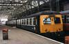 Class 120 DMU @ Glasgow Central, April 1986 [slide 8636]