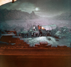 Knott's Berry Farm (jericl cat) Tags: show horses sculpture wagon gold hotel trails covered western 1941 diorama andyanderson paulvonklieben