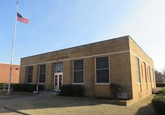 Post Office 73573 (Waurika, Oklahoma) (courthouselover) Tags: oklahoma jeffersoncounty waurika postoffices ushighway70 ok chisholmtrail northamerica unitedstates us