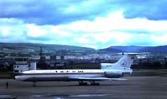 MG0201E YR-TPF TU-154B GLA (fergusabraham) Tags: yrtpf tarom glasgowinternational romania rot tupolev tu154 gla egpf