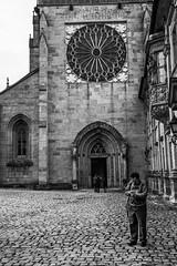 ring ring (consigliere_tom) Tags: germany kodaktmax400 candid church flickr people street streetphotography urban blackandwhite blackwhite bw monochrom film architecture