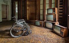Wheelchair Nursing Home - The Surveillance Room