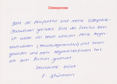 Osteoporose und Makula