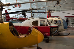 Helicopters, Steven F. Udvar-Hazy Center, Chantilly, Virginia (Roger Gerbig) Tags: museum virginia smithsonian dulles aviation helicopter nationalairandspacemuseum chantilly stevenfudvarhazycenter rogergerbig