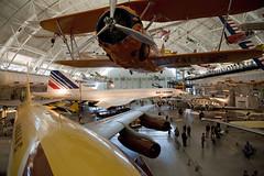 Concorde 'n' Friends, Steven F. Udvar-Hazy Center, Chantilly, Virginia (Roger Gerbig) Tags: nationalairandspacemuseum smithsonian stevenfudvarhazycenter aviation museum rogergerbig chantilly virginia dulles concorde