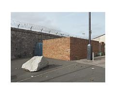 garden walls (chrisinplymouth) Tags: corner wall brick rock lamppost urban plymouth devon england uk cw69x 2017 city urb desx plymgrp camminante diagonal r145 diag