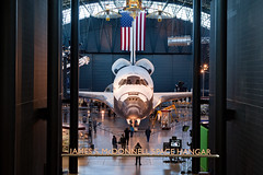 Space Shuttle Discovery, Steven F. Udvar-Hazy Center, Chantilly, Virginia (Roger Gerbig) Tags: museum virginia smithsonian dulles aviation discovery spaceshuttle nationalairandspacemuseum chantilly stevenfudvarhazycenter rogergerbig