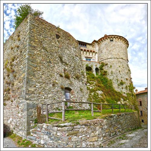Castello Malaspina, Fosdinovo, Tuscany, Italy