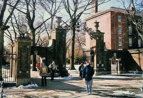 Meyer Gate ,  Harvard Yard by Ik T