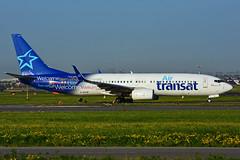 C-GTQF (Air Transat) (Steelhead 2010) Tags: boeing yyz b737 airtransat b737800 creg cgtqf