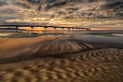 Furore (Zz manipulation) Tags: art ambrosioni zzmanipulation altezza paesaggio city pontile mare spiaggia sera tramonto nubi scuro