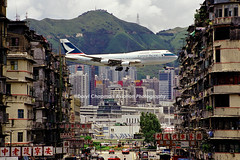 Cathay Pacific, 747-367, VHH, Kai Tak, Hong Kong ****My Number 1 Kai Tak shot**** (Daryl Chapman Photography) Tags: kaitak boeing 747367 hongkong famous shot daryl chapman classic amazing canon tokwawan kowloon kowlooncity oldscheme best unique history spotting airliner jetphotos airlinersnet rollsroyce bookcover wellknown magazines 743 digest 747 worldland ringexcellence photography 747300 cx cpa