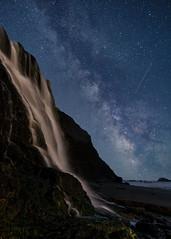 Alamere Milk & Stars (Jaykhuang) Tags: alamerefalls pointreyes pointreyesnationalseashore milkyway waterfalls lineup nightphotography jayhuangphotography meteor shootingstar