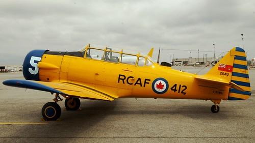North American CCF Harvard 4 at Canadian Warplane Heritage