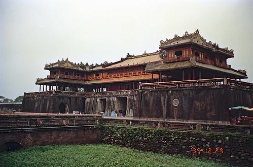午門 Ngọ Môn ー グエン王朝の王宮、フエ by Ik T