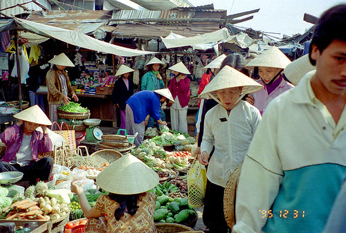 Market at Hoi An by Ik T