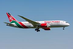 5Y-KZG - Kenya Airways - Boeing 787-8 Dreamliner (5B-DUS) Tags: 5ykzg kenya airways boeing 7878 dreamliner b788 ams eham amsterdam schiphol airport aircraft airplane aviation flughafen flugzeug planespotting plane spotting netherlands