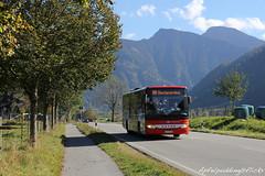 Bunte Buswelt - Bayrischzell (apfelpudding) Tags: bayrischzell osterhofen alpen bayern öpnv transport bus autobus omnibus linienbus setra oberbayernbus