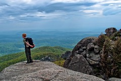 Old Rag of Shenandoah National Park in Virginia