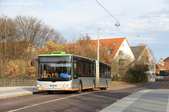 Bunte Buswelt - Hannover V (apfelpudding) Tags: üstra hannover anderten gvh öpnv transport nahverkehr bus omnibus linienbus autobus gelenkbus man manlionscity lionscity niedersachsen