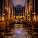 Interior of Roskilde Cathedral - Dark version