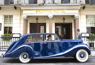 Copy of Vintage Car Transfer - Blue Baron - HR_320