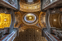St. Peter's Basilica (robbertladan) Tags: fineart stpetersbasilica citytrip composition building vaticancity architecture symmetrical lines italy cityscape creative roma countries light 2018