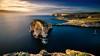 Fungus Rock :: Malta :: Gozo (K.H.Reichert [ ... ]) Tags: greengozo longexposure dwejra azurewindow ocean meer sky felsen sea malta gozo langzeitbelichtung coast fungusrock rocks