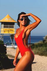 Baywatch (chrisgentlephoto) Tags: australia goldcoast bikini babe fitnessmodel baywatch babewatch onepiece swimsuit si swim pammy surfersparadise surfers chrisgentle aus losangeles bondi malibu beach portfolio shoots agency