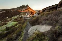 The Churnet Way (Julian Barker) Tags: the churnet way ramshaw rocks leek staffordshire peak district moor moorland outcrop ridge low sun contrast cool warm highlights rocky canon dslr 5d mkii julian barker england uk europe
