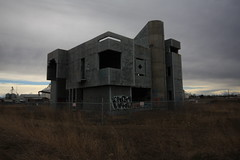 IMG_9201 (the germ) Tags: brutalism brutalist abandoned alberta cube cool box angst teenager uer concrete urbanexploration urbex