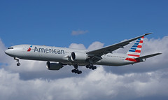 N725AN Heathrow 14-03-19 (IanL2) Tags: americanairlines boeing 777 n725an london heathrow aircraft airport airliners myrtleavenue