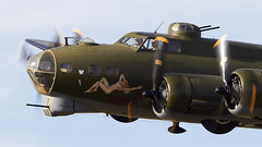B-17 Flying Fortress (Bernie Condon) Tags: boeing b17 flyingfortress usaaf bomber ww2 vintage preserved warplane military sallyb