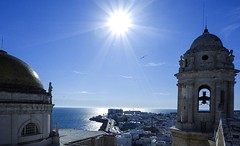 Cadiz (joannab_photos) Tags: cathedral ocean españa cadiz