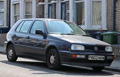 P803 KKM (1) (Nivek.Old.Gold) Tags: 1997 volkswagen golf 5door 1391cc gilders