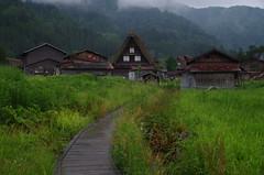白川郷(Shirakawa Village/Gifu) (Marvelous Chester) Tags: 岐阜 白川郷 雨 夏 初夏 風景 曇り ペンタックス gifu shirakawa village cloud rain japan pentax k30 fa31mmlimited landscape outdoor