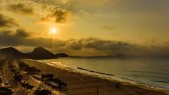 Rio; Copacabana Awakening (drasphotography) Tags: rio copacabana morning sun brazil awakening drasphotography beach dawn sonnenaufgang travel travelpbotography city reisefotografie urban sky nikon d810