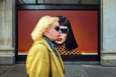 Oxford St. (Ondřej Řičica) Tags: ondrejricica streetphotography canpubphoto ricohgrii grii london westend documentingbritain britain documentaryphotography photodocumentary unitedkingdom prada woman selfridges sunglasses